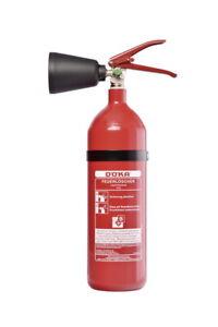 Döka Feuerlöscher 2 Kg Kohlendioxid CO2