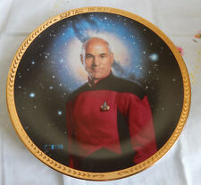Captain Jean-Luc Picard Plate Star Trek The Next Generation