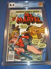 Ms. Marvel #17 Bronze age Captain Marvel 1st Mystique Key CGC 8.5 VF+ Beauty