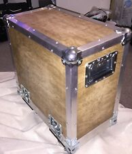 FLIGHTCASE for Fender combo or similar Natural Wood Finish 59x50x28cm Free Post