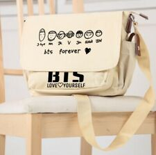 BTS Bag School Shoulder Crossbody Bags Handbag For Teenager Birls Boys khaki