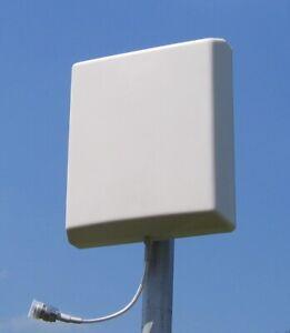 UMTS LTE GSM DECT WLAN Breitband Antenne Panel Richtantenne 8 dBi
