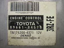 00 Tacoma 2.7L 3RZ 4x4 MT ECU ECM PCM Engine Control Unit Computer 89661-04570