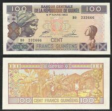GUINEA - 100 Francs 2012 UNC Pick 35b