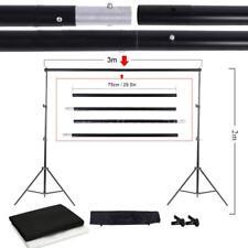 Adjustable Background Photo Studio Kit Set Support Stand Photography Backdrop