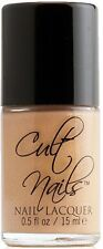 NEW! CULT NAILS Nail Polish Lacquer in BAKER ~ Rich butterscotch/tan gold glow
