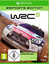 XBOX ONE JUEGO WRC 5 eSports Edition Rally CARRERAS NUEVO Y EMB. orig.