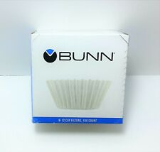 Bunn Coffee Filters, 8/10-Cup Size, 100/Pack (BCF100B)