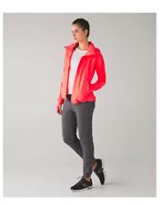 Lululemon Gather Me Slightly Jacket Very Light Flare (Bright Coral) Size 8 EUC