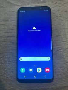 Smartphone Samsung Galaxy S8 SM-G950 - 64 Go - Noir - Ecran Fantôme
