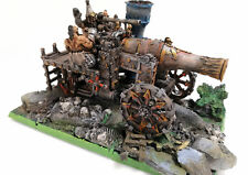 "WARHAMMER  FORGE WORLD OOP ""CHAOS DWARF MAGMA CANNON""  PRO PAINTED LIMITED ED."