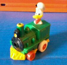 Disney Donald Duck In Green Train Pull Back And Watch It Go Kids Meal Toy Mickey