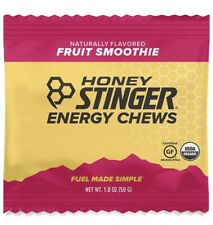 Honey Stinger Certified Organic Energy Chews Fruit Smoothie Bx of 12 Gluten Free