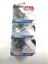 Hot Wheels Star Wars Starships Sets of 3 includes Flight Stand