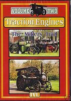 TRACTION ENGINES - THE MILLERS TRAIL V.2 - NEW & SEALED DVD - FREE POST IN UK