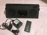 Altec Lansing iMT620 iPod/FM/Aux Speaker Dock w/ Remote - Tested/Works