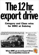 MG Car Sales Brochures 1968