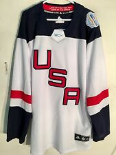Reebok Premier NHL Jersey World Cup Hockey Team White sz 2X