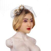 Realistic Masquerade Crossdresser Silicone Headwear Female Mask Halloween