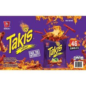Barcel Takis Fuego 46 Singles - 1 oz Bags