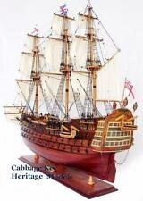 HMS-Victory-Admiral-Lord-Nelsons-Flagship-Wooden-Model-fully-assembled 27""