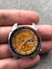 March 1971 Vintage Resist Seiko Pogue 6139 6005 Automatic Chronograph