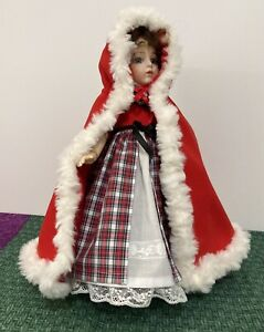 Bleuette: Highland Ball Gown and Fur Trimmed Cape