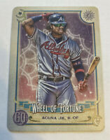 2020 Topps Gypsy Queen Tarot of the Diamond #TOD1 Ronald Acuna Jr.