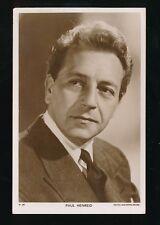 Film Theatre PAUL HENREID MGM plain back photo Card Picturegoer #W287
