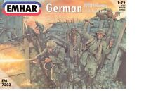 Emhar 1/72 WWI German INFANTRY WITH TANK CREW 7203 - Plastic Model -1/72 Scale