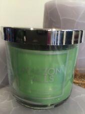4 Oz Bath & Body Works Amazon Falls Small Candle Jar With Green Rainforest Fern