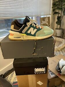 New Balance 997S Teal Brown - men's size 11.5 - free shipping