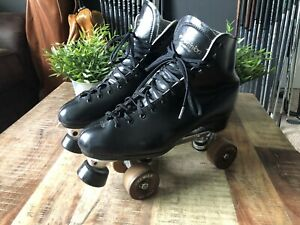 Vintage Dominion Skates Mens 10.5 With Premier FO-MAC Competitor Sure Grip