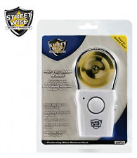 Streetwise 110db Portable Door Knob Alarm Chime - Touch or Vibration Triggered