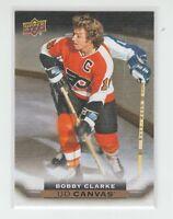 (64350) 2015-16 UPPER DECK CANVAS BOBBY CLARKE #C241