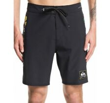 Quicksilver Boardshorts Skull Mens 32 Black