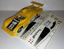 RENAULT Alpine v6 TURBO WHITE 1:43 UNIVERSAL HOBBIES BIANCO NUOVO NEW