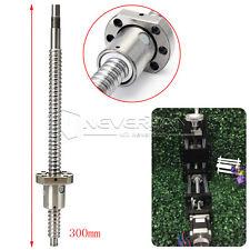 Kugelgewindespindel C7-1605 L300mm Kugelgewinde mit Einzelkugelmutter CNC Fräse