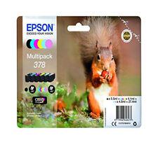 Genuine Epson 378, Multipack Ink Cartridges, T378, C13T37884010 XP-8500, XP-8505