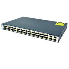 Cisco Catalyst 3750-E Series PoE-48 Port Network Switch WS-C3750E-48PD-E