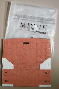 MICHE Classic Purse Shell - Janine - New in Bag - Item#: 1189 Salmon Pink