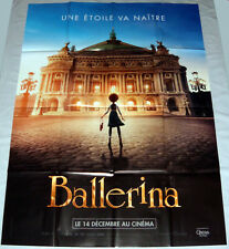 LEAP Ballerina Opéra garnier Paris Animation LARGE French POSTER teaser
