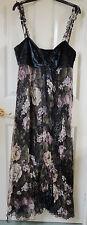 Per Una Speziale Floral Maxi Dress - New, Size 14R, 75% Silk, Was £150