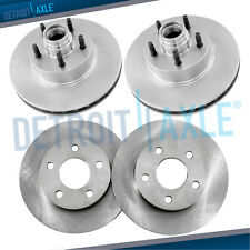 All (4) Front & Rear Brake Rotors 2000 2001 2002 2003 Ford F150 2WD