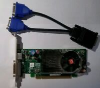 AMD ATI Radeon B276 HD2400xt PCI-E & Dual Monitor DVI or VGA Adapter