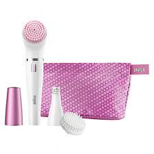 Braun FaceSpa 832s Facial Face Cleansing Brush & Epilator
