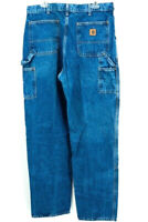 Carhartt Mens Carpenter Jeans Double Knee Dungaree Fit Classic Rise 36 X 36 USA