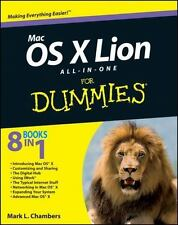 Mac OS X Lion All-in-One For Dummies, Mark L. Chambers, Good Condition, Book