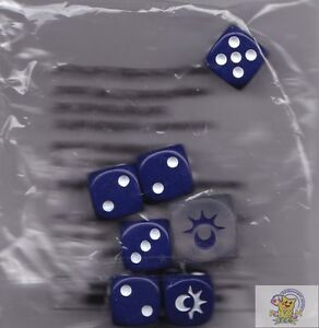 POKEMON Sun & Moon DICE 12mm AND 16mm COUNTERS FOR CARDS
