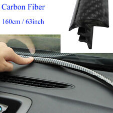 1.6m Carbon Fiber Car Dashboard Sealing Strips Styling Car Interior Accessories